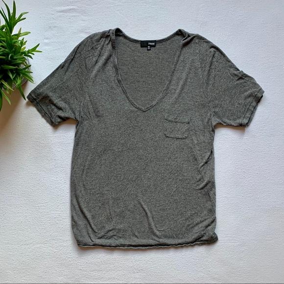 Wilfred Free Libre Pocket T-shirt Grey Extra Small